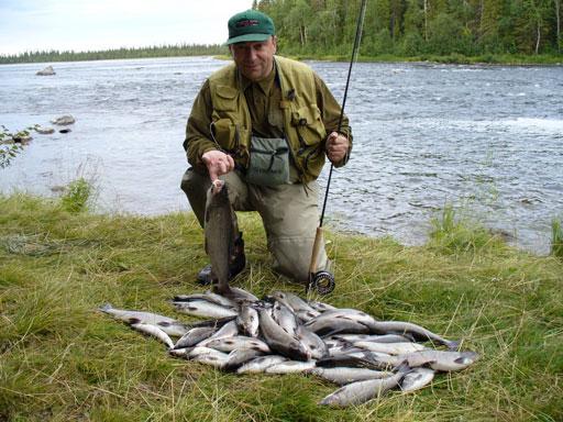 рыбалка на еломе